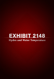 Exhibit 2148: Hydro and Water Temperature