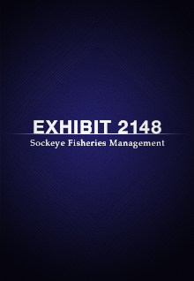 Exhibit 2148: Sockeye Fisheries Management