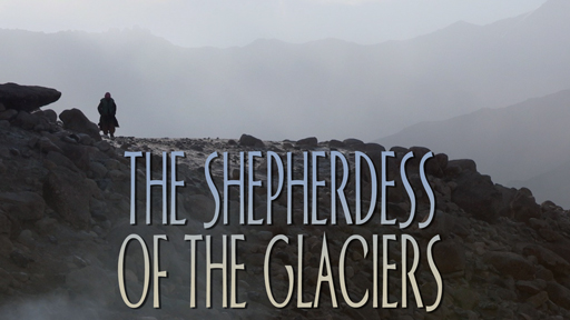 Photo of a rocky outcrop serves as a link to The Shepherdess of the Glaciers film page