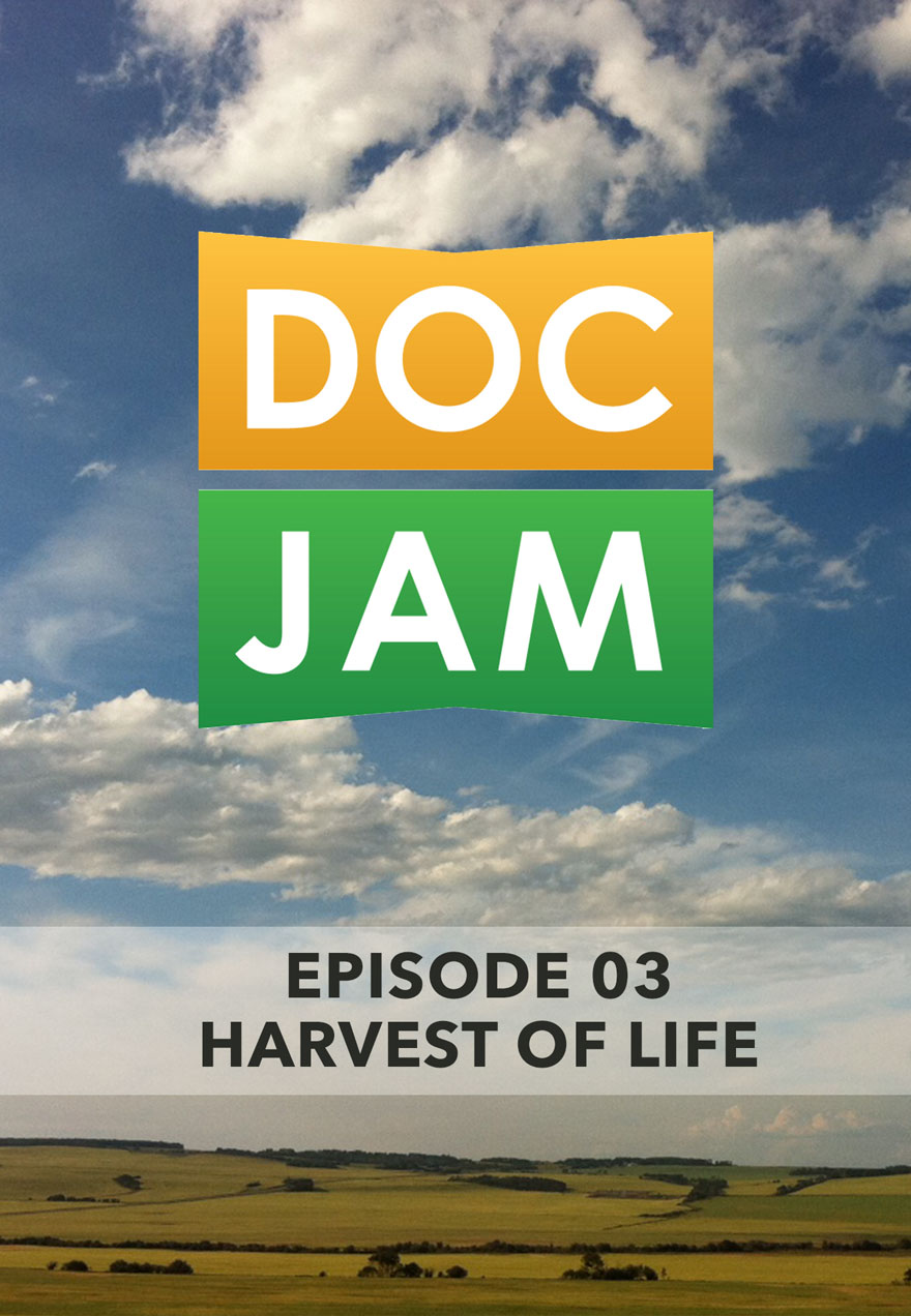 Photo of fields and sky serves as the link to Doc Jam Episode 3 film page