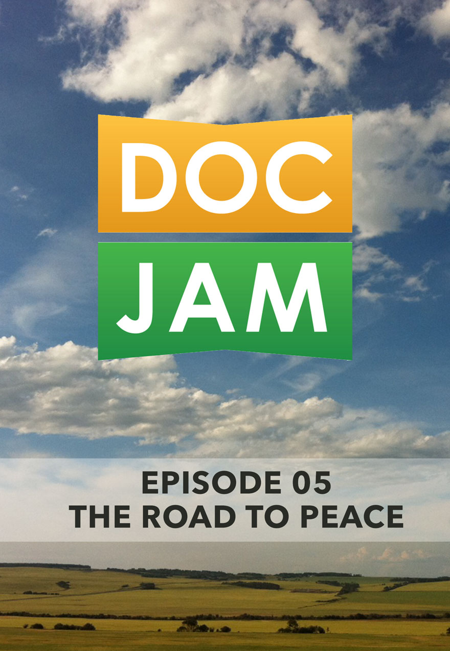 Photo of fields and sky serves as the link to Doc Jam Episode 5 film page