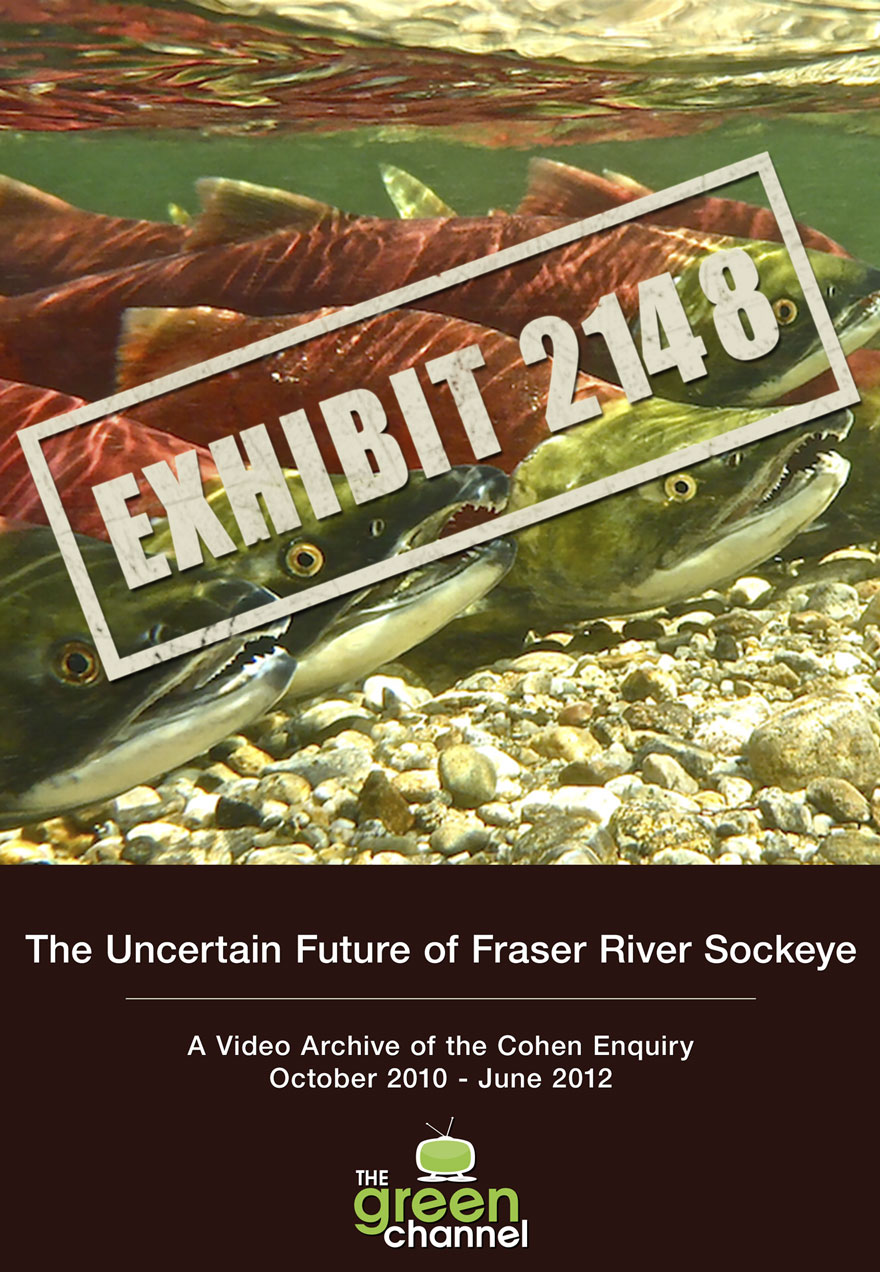 Poster of underwater sockeye salmon serves as a link to the Exhibit 2148 series page