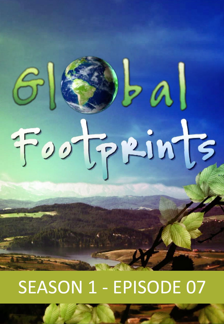 Poster of rural landscape serves as a link to Global Footprints season 1 episode 7 film page