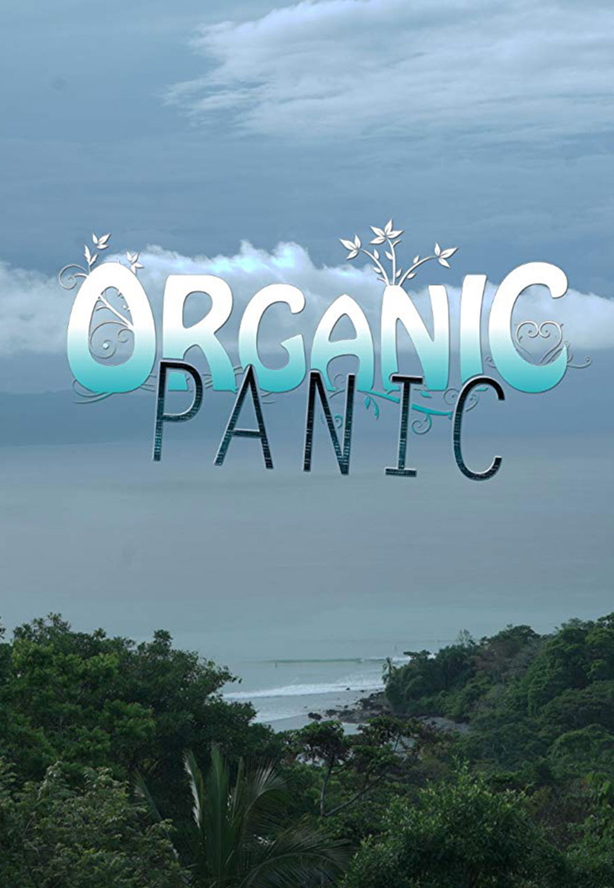 Poster of an ocean view serves as a link to the Organic Panic series page