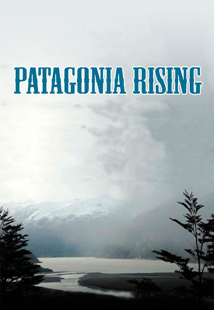 Poster of a scenic landscape serves as a link to the Patagonia Rising film page