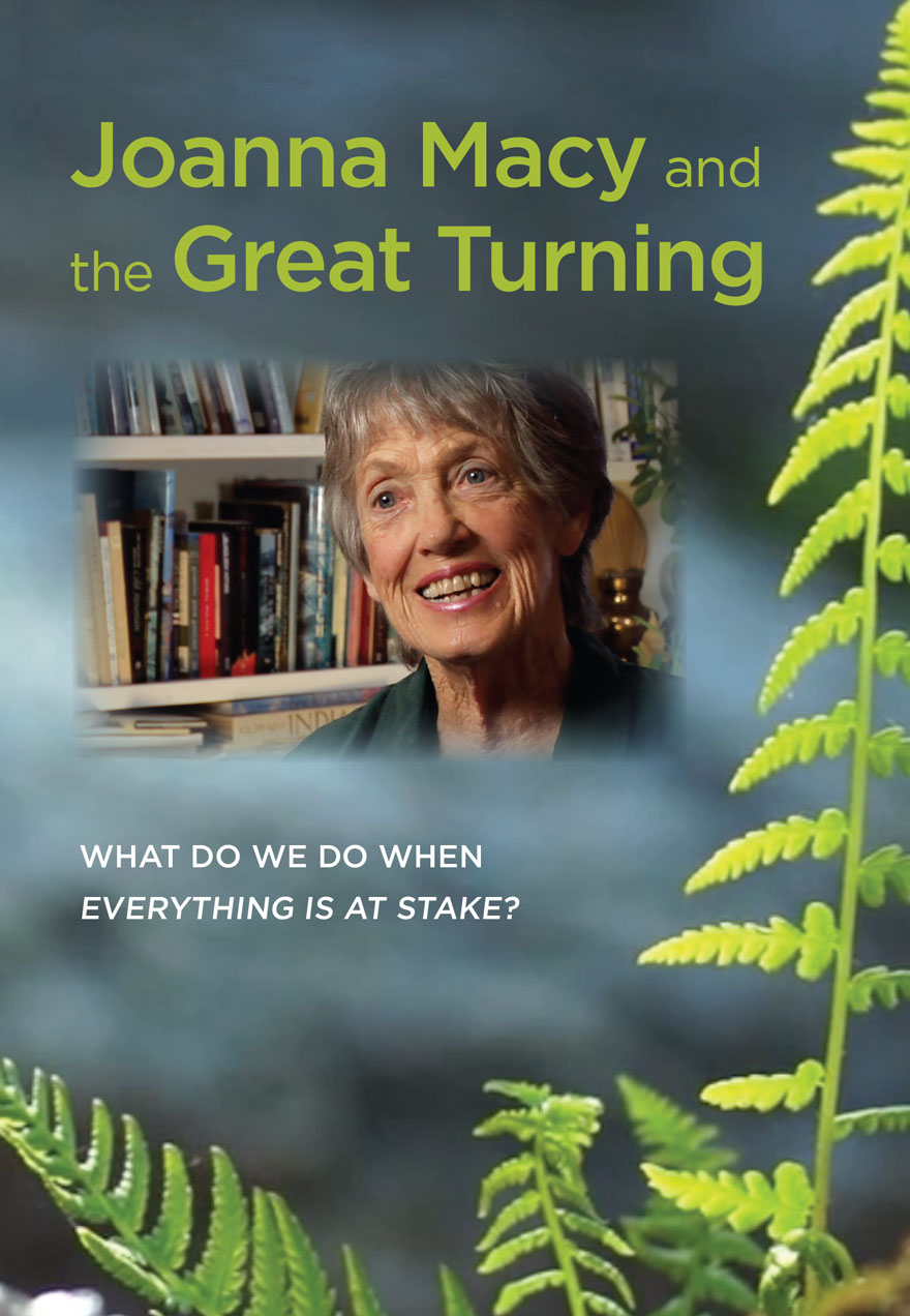 Joanna Macy and the Great Turning poster acts as a link to film page