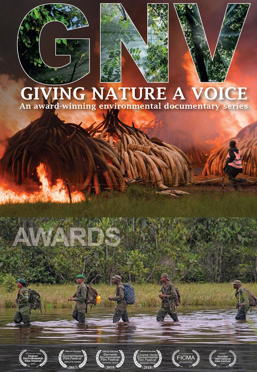 Giving Nature a Voice poster acts as a link to the series