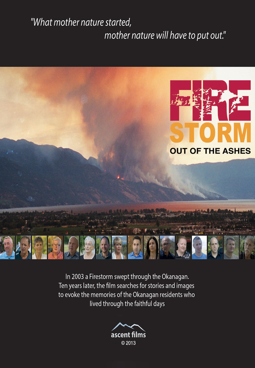 Poster for the Firestorm: out of the ashes film