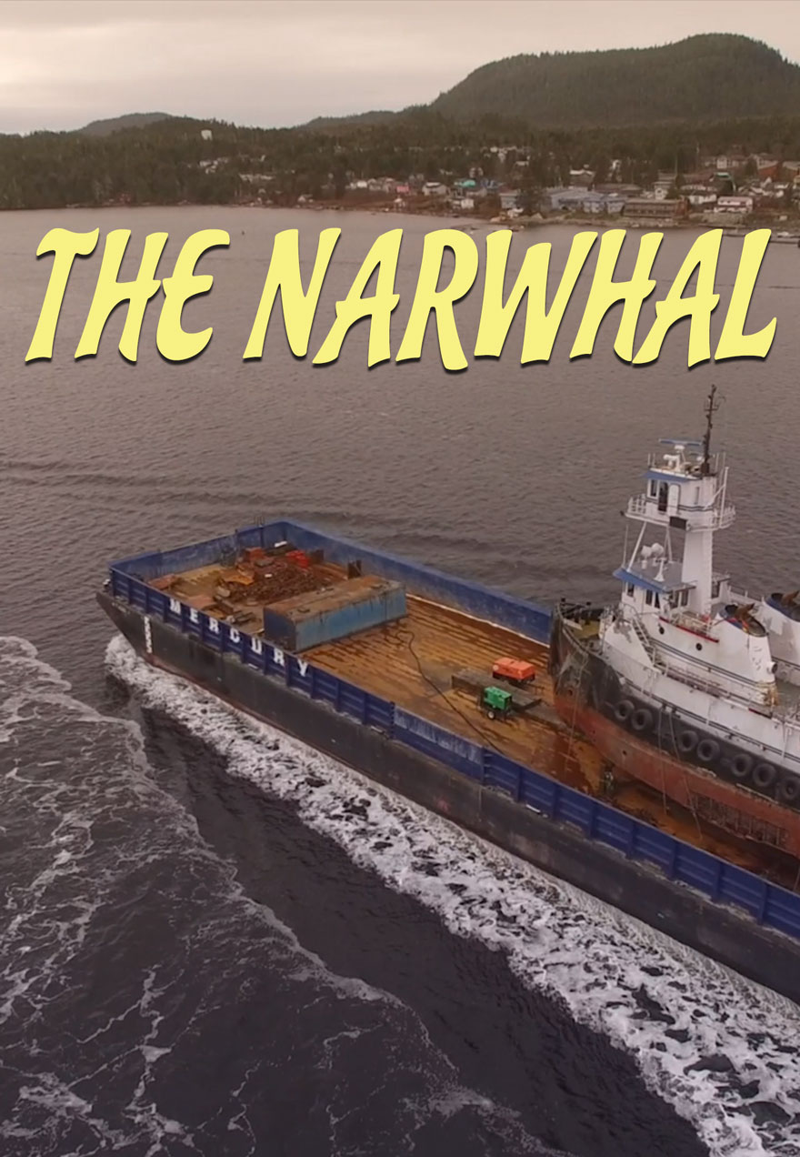 Narwhal Dash poster of a ship acts as a link to the film page
